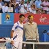 Novak Djokovic & Roger Federer